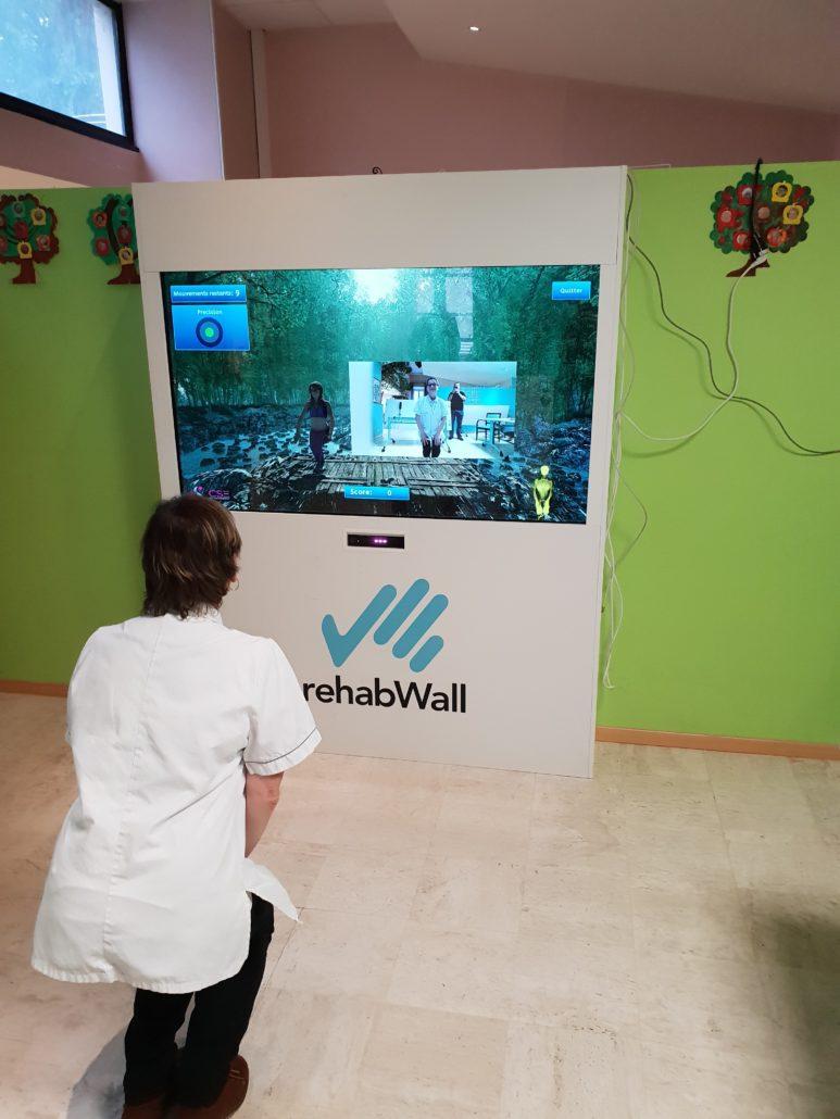 activité interactive rehabwall ehpad