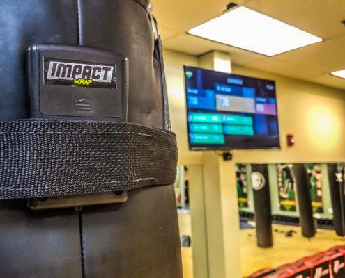 boxe interactive impact wrap